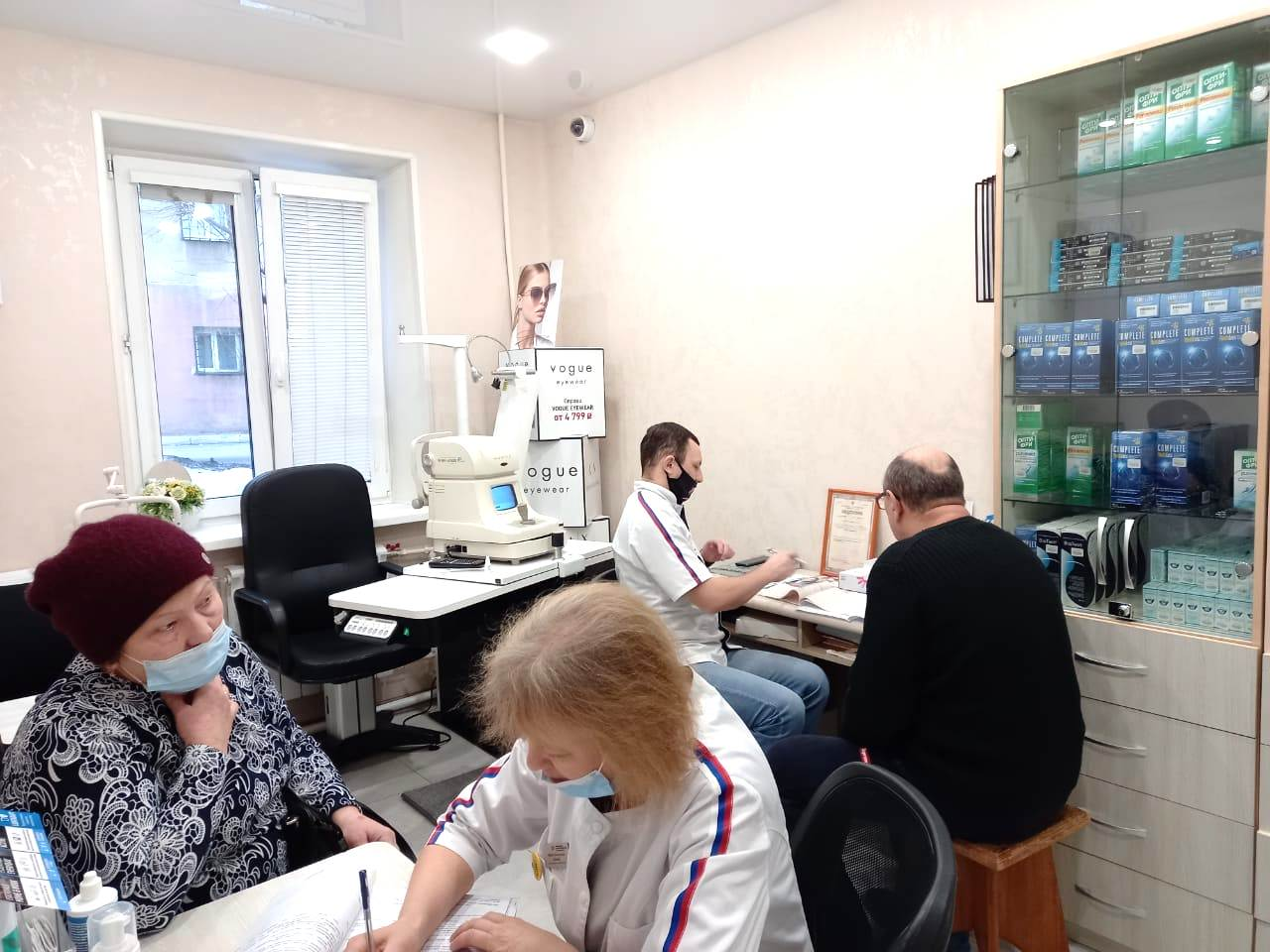 Социальный проект «Бесплатные офтальмологические осмотры для жителей отдалённых населённых пунктов Приморского края»