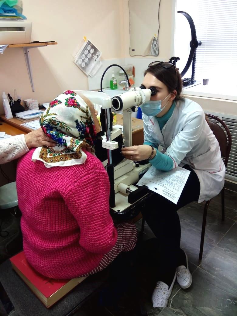 Выездной бесплатный офтальмологический осмотр жителей г. Большой Камень и г. Фокино